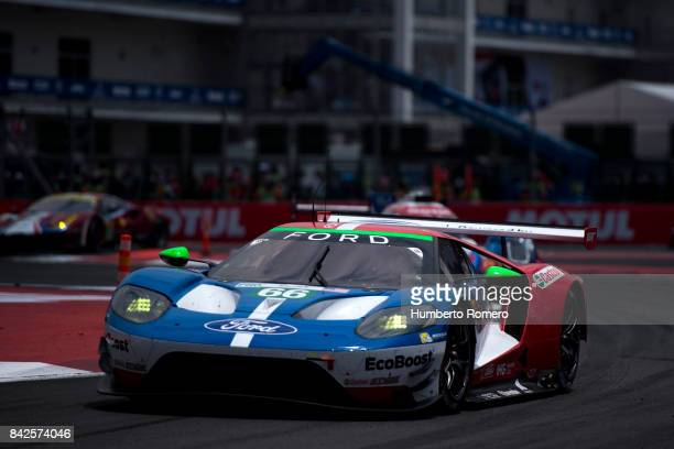 Ford Chip Ganassi Team UK during the 6 Hours of Mexico Practice as part of FIA World Endurance Championship at Hermanos Rodriguez Race Track on...