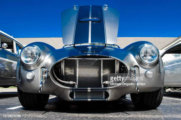 1965 ford cobra - build grill stock photos and pictures