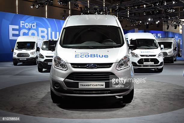 Ford commercial vehicles on the motor show