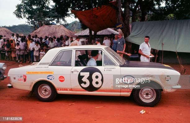 Ford Cortina MkII, 1967 East African Safari. Creator: Unknown.