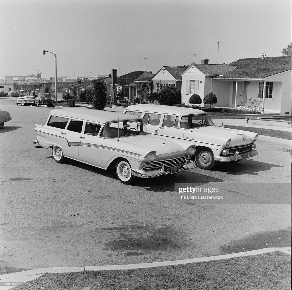Ford County Sedan Wagon  Photographed for Motor Life