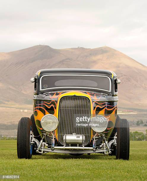 Ford Coupe Custom 1934 By Simon Clay