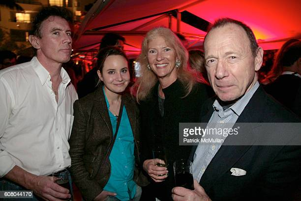 Ford Crull Sarah Douglas Daisy Dickenson and Anthony HadenGuest attend HERMES Invites You to Discover Contemporary Video in Asia at Sagamore Hotel on...
