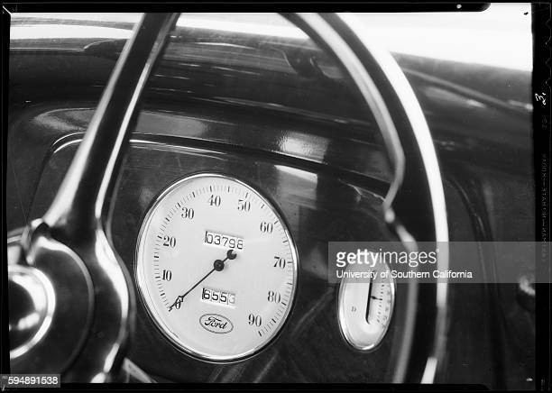 Ford Dashboard 1934