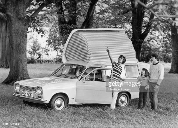 Ford Escort Dormobile Elba. Creator: Unknown.