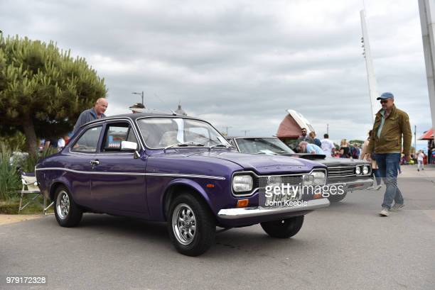 Ford Escort MK1 on display during the Southend Classic Car Show along the seafront on June 17 2018 in Southend on Sea England