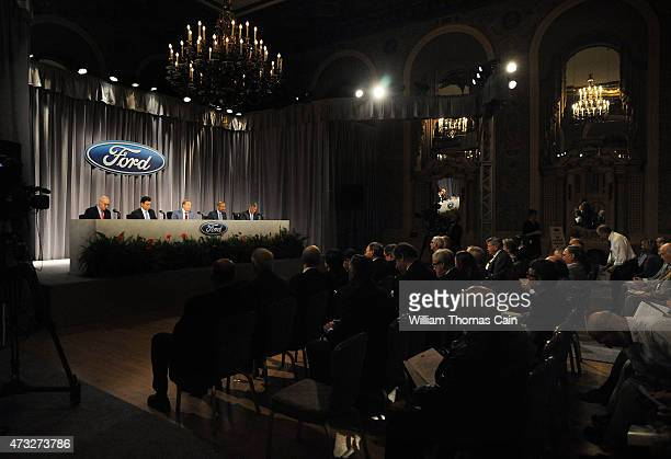 Ford Executive Vice President and CFO Robert L Shanks President and CEO Mark Fields Executive Chairman William Clay Ford Jr Corporate Secretary and...
