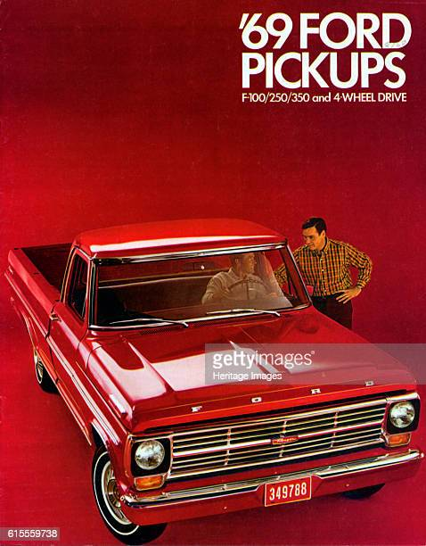Ford F100 pick up truck brochure Artist Unknown