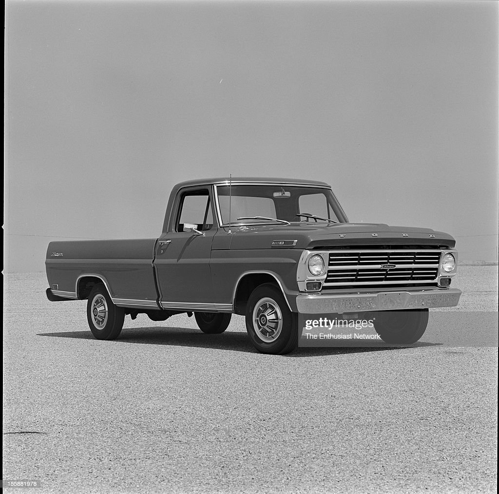 Ford F100 Pickup News Photo Getty Images 1969 Short Bed 1968