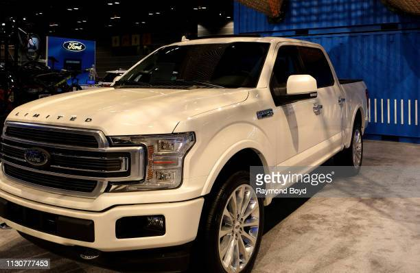 Ford F-150 4x4 Super Crew is on display at the 111th Annual Chicago Auto Show at McCormick Place in Chicago, Illinois on February 8, 2019.