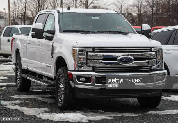 2020 ford f-250 pickup truck - ford motor company stock pictures, royalty-free photos & images