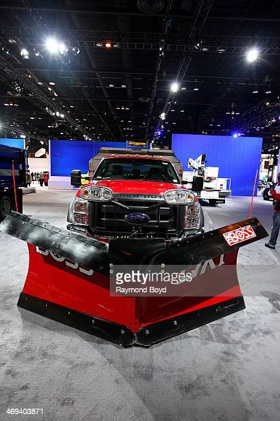 Ford F-550 Super Duty Commercial Truck, at the 106th Annual Chicago Auto Show, at McCormick Place in Chicago, Illinois on FEBRUARY 06, 2014.