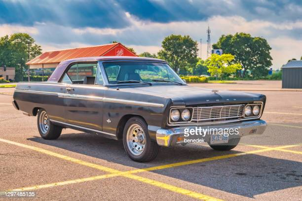 1965 ford fairlane 500 car - 1965 stock pictures, royalty-free photos & images