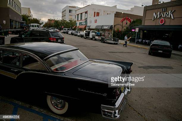 A Ford Fairlane 500 parked on the corner of Chester Ave and 19th street in downtown Bakersfield Calif on November 3 2015