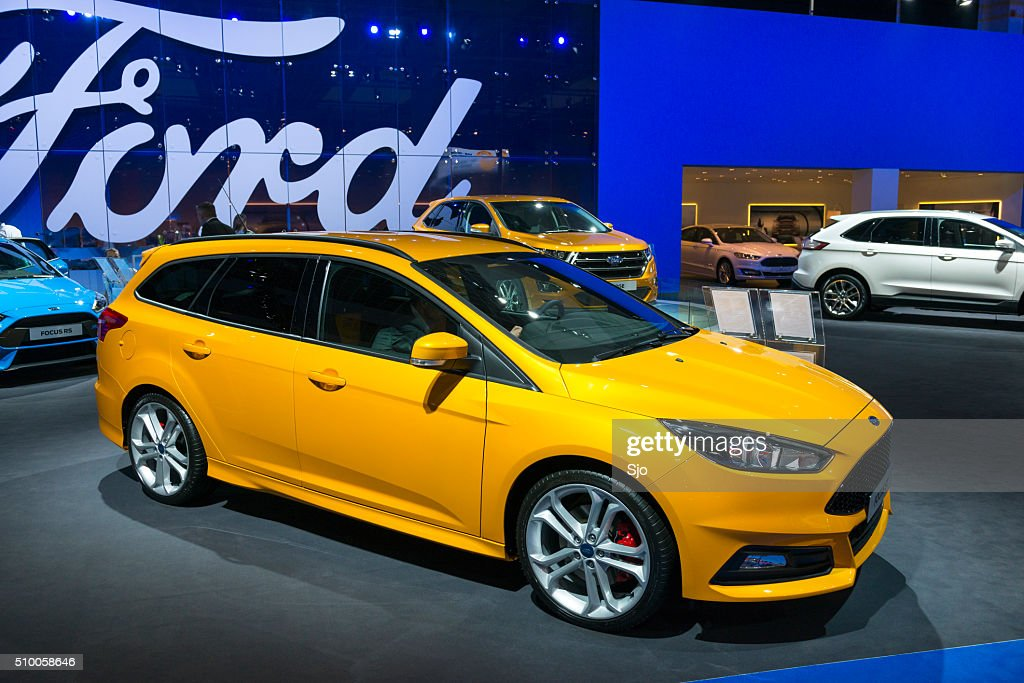 ford focus estate station wagon car stock photo | getty images