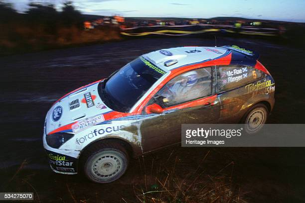 Ford Focus RS WRC driven by Colin McRae in 2002 Network Q Rally 2000