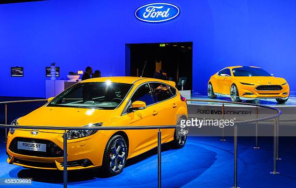 Ford Focus ST and Evos concept