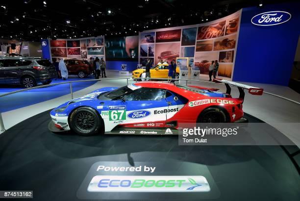 Ford GT 2016 Le Mans is seen during Dubai Motor Show at Dubai World Trade Centre on November 15 2017 in Dubai United Arab Emirates