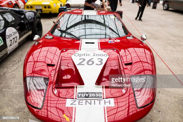 Ford GT 40 MKII 1967 is seen during the Tour Auto Optic 2000 at Le Grand Palais on April 23 2018 in Paris France
