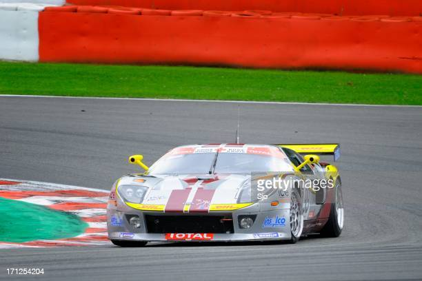 ford gt gt3 race car - ford gt stock pictures, royalty-free photos & images