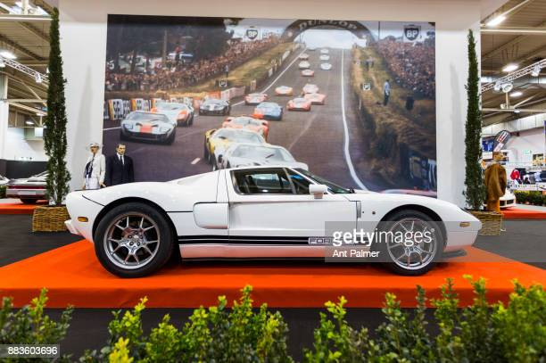 Ford GT is displayed at the Essen Motor Show on December 1 2017 in Essen Germany The Essen Motor Show is celebrating its 50th edition in 2017