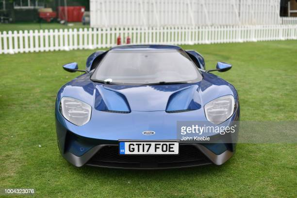 Ford GT on display at London Concours 2018 at Honourable Artillery Company on June 7, 2018 in London, England.