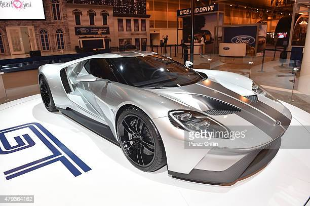 Ford GT on display at the 2015 Essence Music Festival on July 3, 2015 in New Orleans, Louisiana.