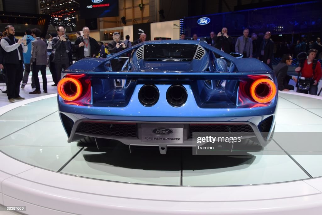 Ford GT on the motor show : Stock Photo