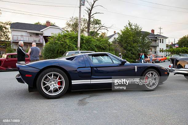 ford gt - ford gt stock pictures, royalty-free photos & images