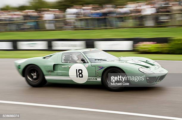 Ford GT40 at The Goodwood Revival Meeting 13th Sept 2013