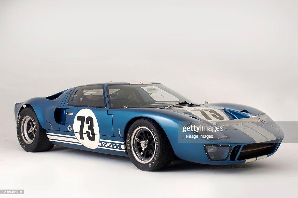 Ford GT40 Daytona prototype 1965 : News Photo