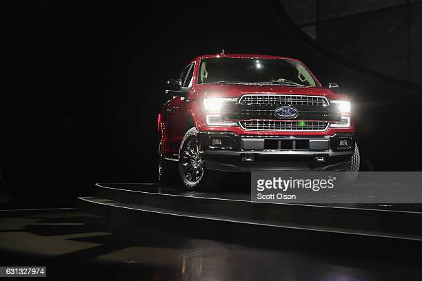 Ford introduces the F150 at the North American International Auto Show on January 9 2017 in Detroit Michigan The show is open to the public from...