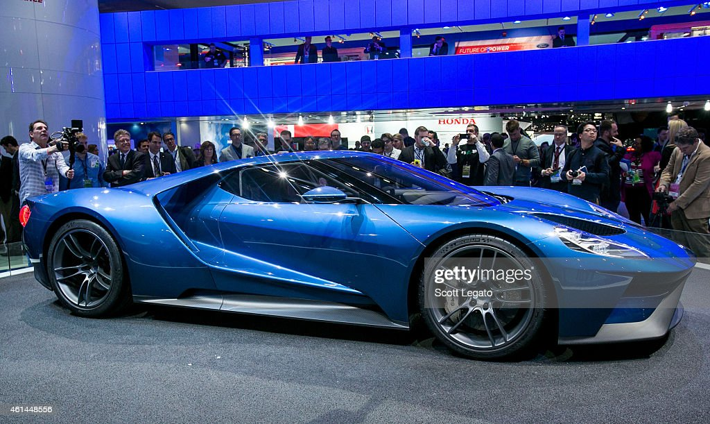 North American International Auto Show 2015 - Press Preview : Fotografia de notícias