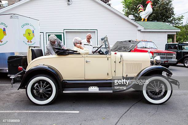ford model a roadster replica - 1920 1929 stock pictures, royalty-free photos & images