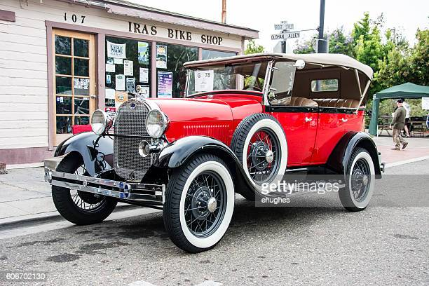 ford model a touring car - 1920 1929 stock pictures, royalty-free photos & images