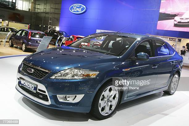 Ford Mondeo XR5 is displayed at the 2007 Australian International Motor Show at the Sydney Convention and Exhibition Centre on October 11 2007 in...