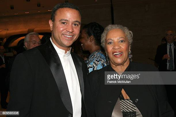Ford Morrison and Toni Morrison attend New York City Opera opens its Fall Season with the New York Premiere of Margaret Garner at New York State...