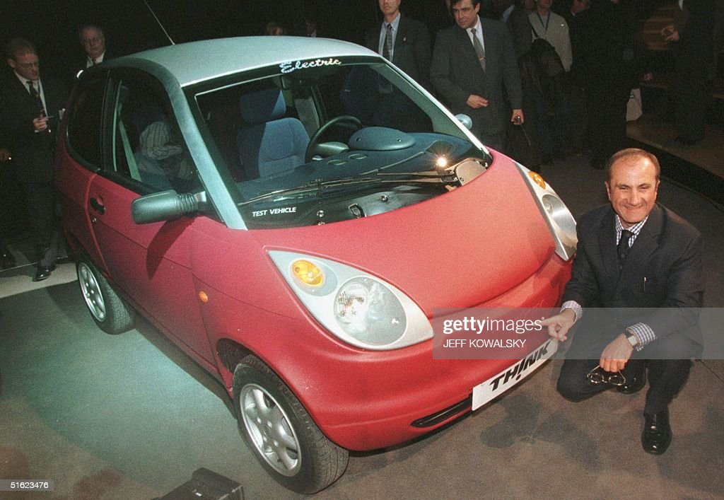 Ford Motor Co President and CEO Jacques Nasser pos : News Photo