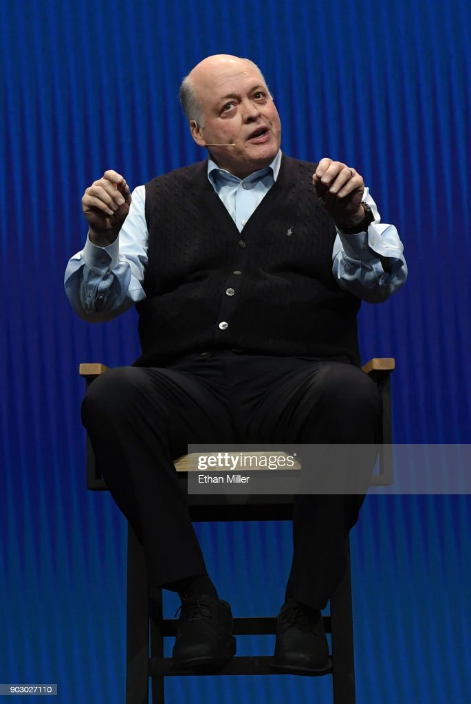 Ford Motor Co. President and CEO Jim Hackett delivers a keynote address at CES 2018 at The Venetian Las Vegas on January 9, 2018 in Las Vegas, Nevada. CES, the world's largest annual consumer technology trade show, runs through January 12 and features about 3,900 exhibitors showing off their latest products and services to more than 170,000 attendees.
