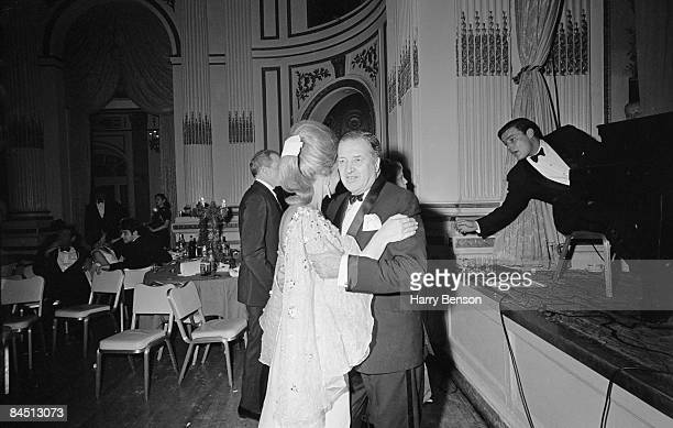 Ford Motor Company CEO Henry Ford II and his wife Anne McDonnell dancing at Truman Capote's BlackandWhite Ball in the Grand Ballroom of the Plaza...