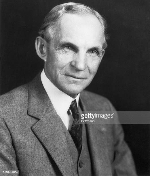 Ford Motor Company founder and entrepreneur Henry Ford