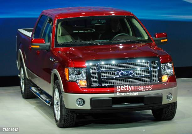 Ford Motor Company shows off the 2009 Ford F-150 to the world automotive media during the press preview days at the North American International Auto...