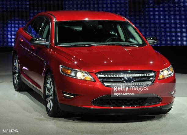 Ford Motor Company shows off the all new 2010 Ford Taurus to the world automotive media during a press preview day at the North American...