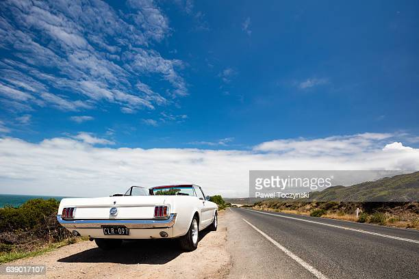 Ford Mustang 1965 on Great Ocean Road, Australia