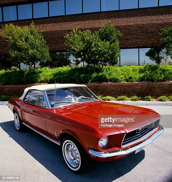 Ford Mustang Convertible 1968 Artist Unknown