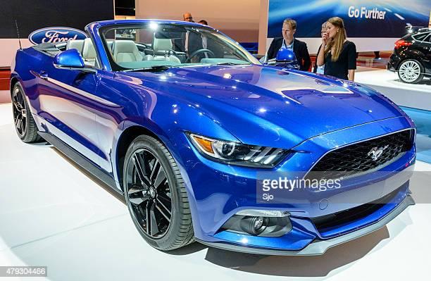Ford Mustang Convertible sports car