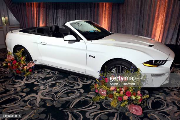 Ford Mustang displayed at the 2019 Essence Black Women in Hollywood Awards Luncheon at Regent Beverly Wilshire Hotel on February 21 2019 in Los...
