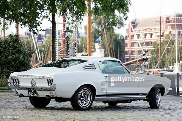 1967 Ford Mustang Fastback in Old Yacht Harbor in Rotterdam
