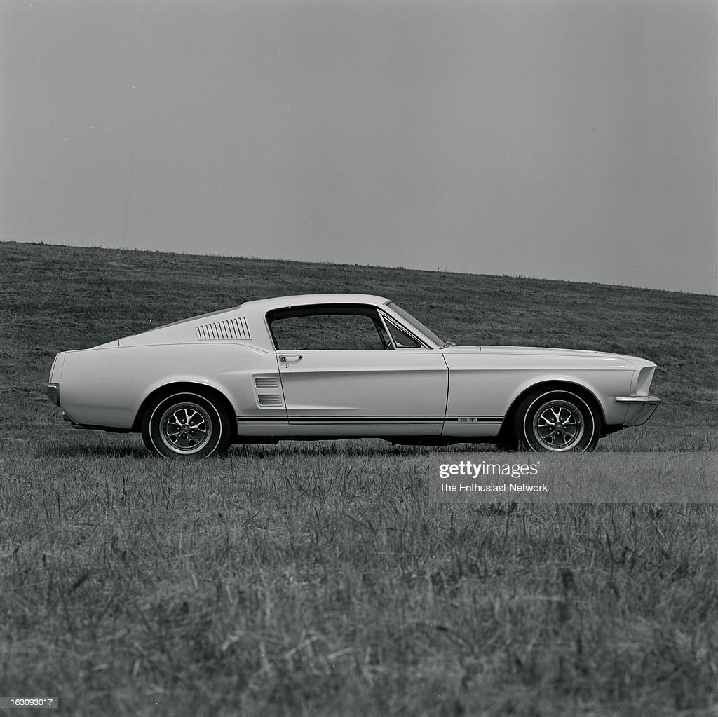 1967 Ford Mustang Gt Fastback Pictures Getty Images 1970 Style Wise The 67 Has Been Refined And Lengthened