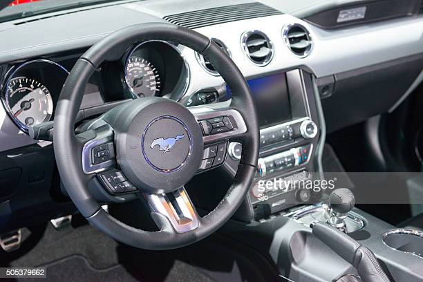 Ford Mustang GT Premium Convertible Muscle Car dashboard